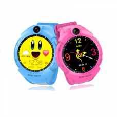 Детские GPS часы Smart Baby Watch Q360 с фонариком оптом