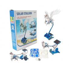 Конструктор на солнечной батарее 3 в 1 Stallion Educational Diy Solar Kit оптом