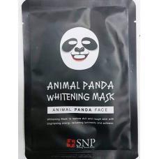 Тканевая отбеливающая маска Animal Panda Whitening mask оптом