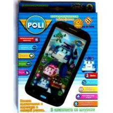 Детский интерактивный телефон Робокар Полиоптом